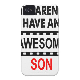 My Parents Have An Awesome Son Case-Mate iPhone 4 Cases