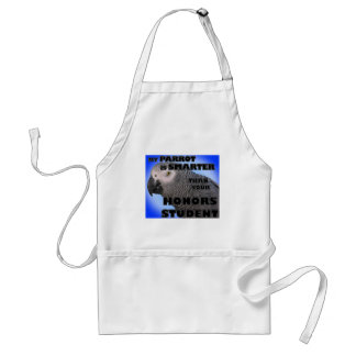 My Parrot is Smarter Than Your Honors Student Standard Apron