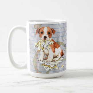 My Parson Russell Terrier Ate My Lesson Plan Coffee Mug
