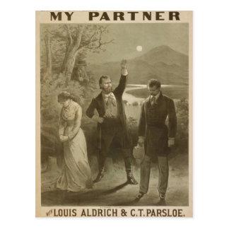 My Partner Vintage Theater Postcards