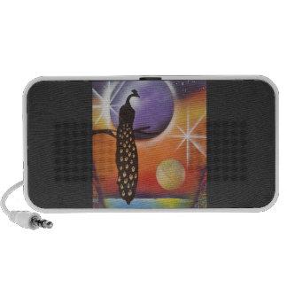 My Peacock iPhone Speakers