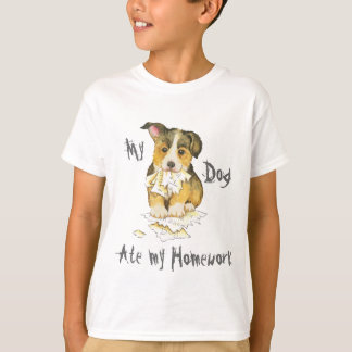 My Pembroke Welsh Corgi Ate my Homework T-Shirt