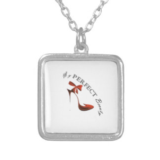 My PERFECT Beauty collection Silver Plated Necklace