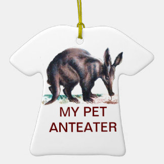 MY PET ANTEATER CHRISTMAS TREE ORNAMENT