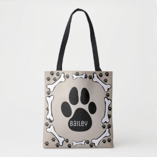 My Pet Dog Monogram Dog Stuff Bag