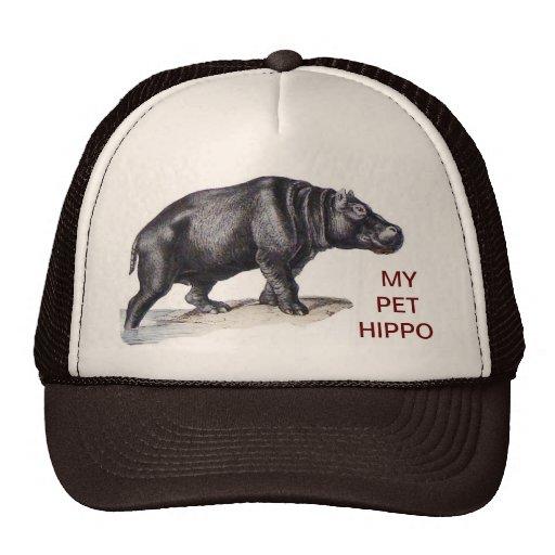 MY PET HIPPO MESH HAT