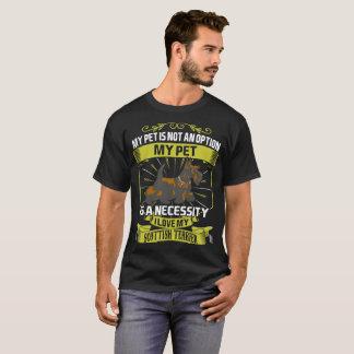 My Pet Is Necessity I Love My Scottish Terrier Dog T-Shirt