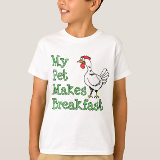 My Pet Makes Breakfast T-Shirt