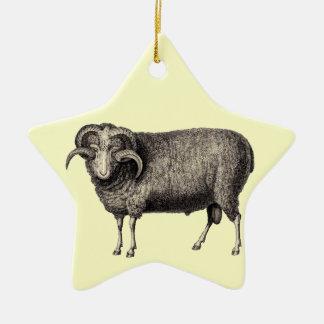 MY PET RAM CHRISTMAS TREE ORNAMENT