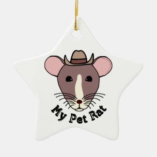My Pet Rat (Cowboy) Ornaments