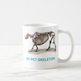 MY PET SKELETON COFFEE MUG