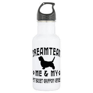 My Petit Basset Griffon Vendeen Dog 532 Ml Water Bottle