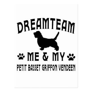 My Petit Basset Griffon Vendeen Dog Postcard