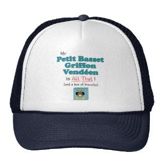 My Petit Basset Griffon Vendeen is All That! Mesh Hat