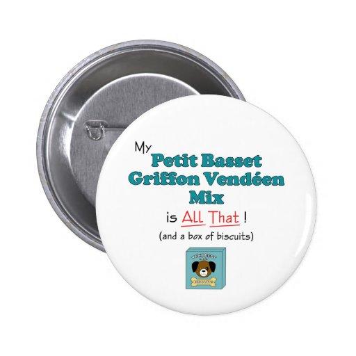 My Petit Basset Griffon Vendeen Mix is All That! Pins