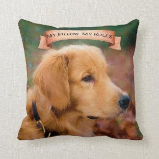 My Pillow, My Rules cute cushion