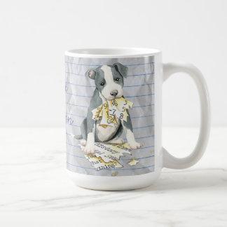 My Pit Bull Ate My Lesson Plan Coffee Mug