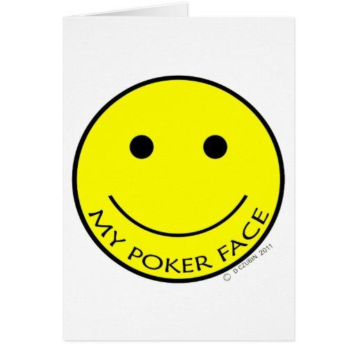 My Poker Face Card