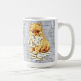 My Pomeranian Ate my Lesson Plan Coffee Mug