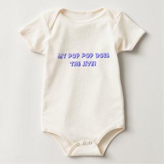 My Pop Pop does Jive Baby Bodysuit