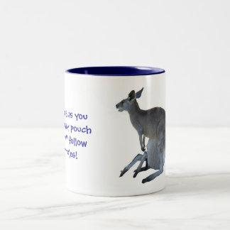 My Pouch, My Rules! Two-Tone Coffee Mug