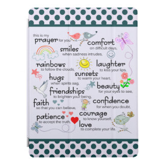 My Prayer For You iPad Pro Cover