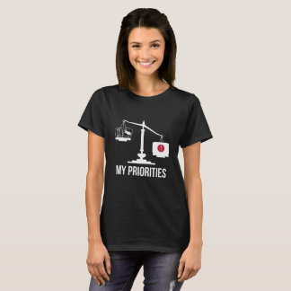 My Priorities Japan Tips the Scales Flag T-Shirt