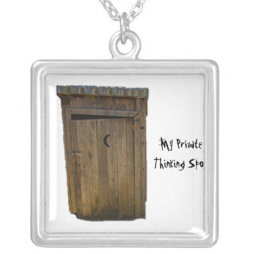 My Private Thinking Spot. Custom Jewelry