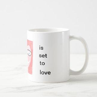 my profile is set to love coffee mug