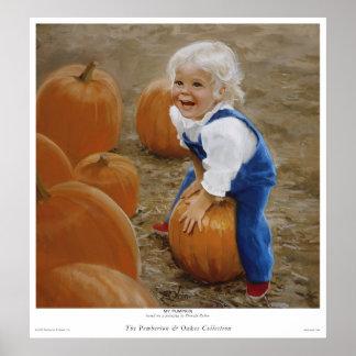 My Pumpkin Poster