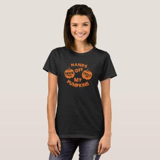 My Pumpkins Trick Treat Logo Funny T-Shirt