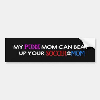 My Punk Mom Bumper Sticker