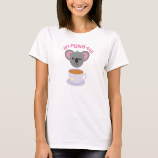 MY PUNS ARE KOALA TEA T-Shirt