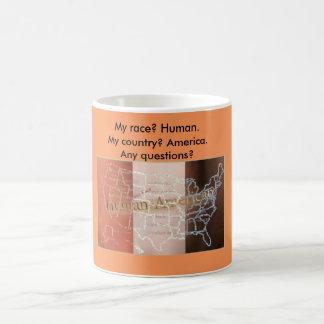 My race? Human! Basic White Mug