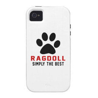 My Ragdoll Simply The Best Vibe iPhone 4 Case