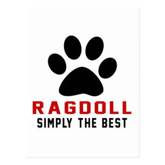 My Ragdoll Simply The Best Postcard