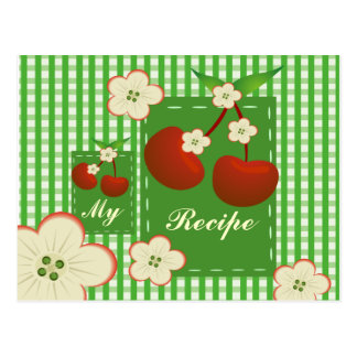 My Recipe Cherry Patch Postcard