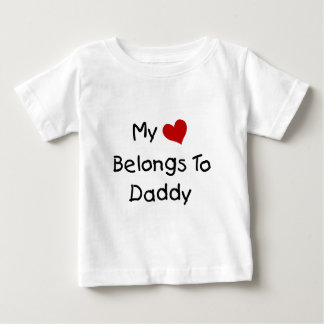 My Red Heart Belongs to Daddy T Shirts