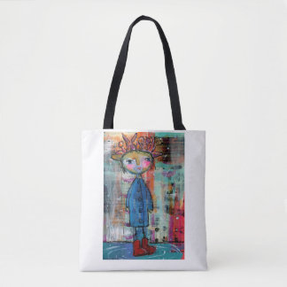 My Red Raining Boots Tote Bag