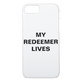 """My Redeemer Lives"" Apple iPhone 8/7 Case"