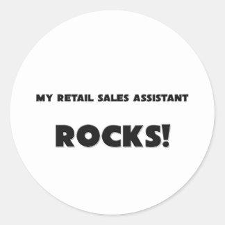 MY Retail Sales Assistant ROCKS! Sticker