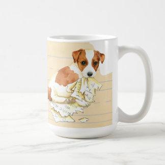 My Russell Terrier Ate My Homework Coffee Mug