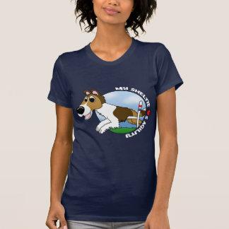 My Sable Sheltie Loves Agility T-Shirt