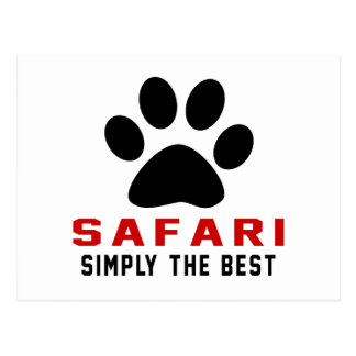 My Safari Simply The Best Postcard