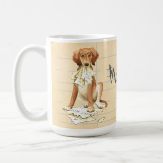 My Saluki Ate my Homework Coffee Mug