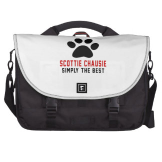 My Scottie chausie Simply The Best Laptop Computer Bag