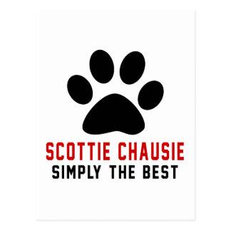 My Scottie chausie Simply The Best Postcard