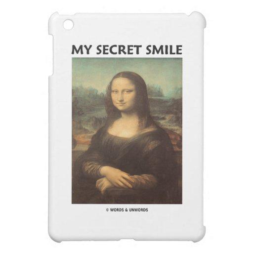 My Secret Smile (da Vinci Mona Lisa) iPad Mini Cases