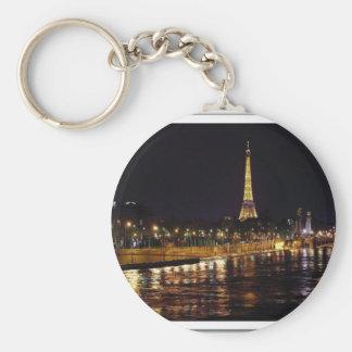 My Seduce Paris Basic Round Button Key Ring