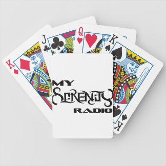 My Serenity Radio Products Support Vets Bicycle Playing Cards